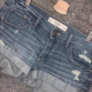 Women's Distressed Shorts